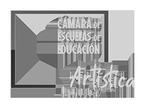 logo Cámara de escuelas de educación artistica del Uruguay