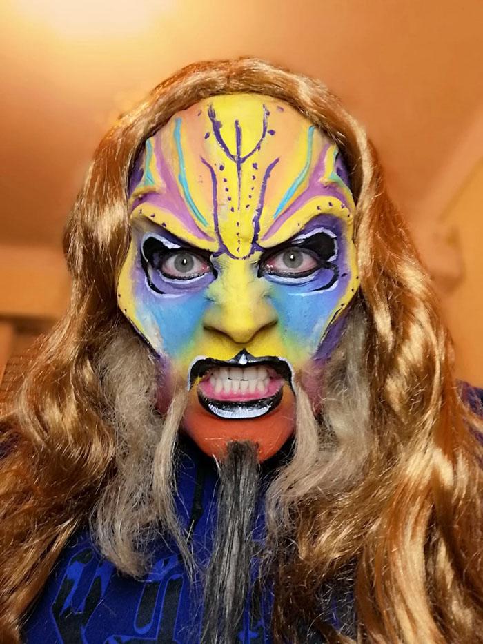 Taller maquillaje artístico