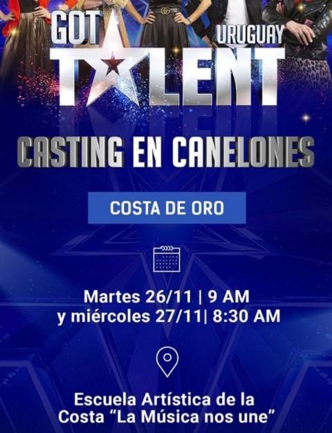 casting Got Talent Uruguay